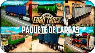 getlinkyoutube.com-Paquete de cargas Jazzycat 3.7 | Euro truck simulator 2 | 1.20 - 1.21 - 1.22