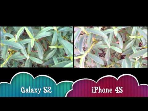 iPhone 4S vs Samsung Galaxy S2 1080p Video Test