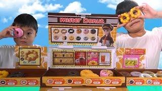 getlinkyoutube.com-リカちゃん おもちゃ ミスタードーナツへようこそ! おままごと Baby Doll Licca-chan Donut shop Toy