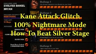 getlinkyoutube.com-WWE Immortals - Kane Attack Glitch - Nightmare 100% How To Silver Challenge