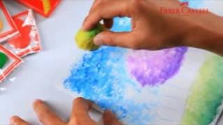 getlinkyoutube.com-Faber-Castell Watercolour Pencil - Teknik Sponge