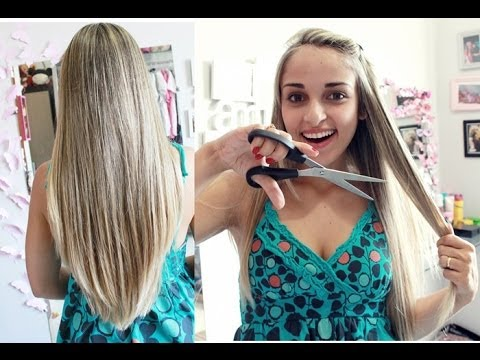 Como cortar o cabelo em casa - Corte em U
