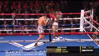 getlinkyoutube.com-Gennady Golovkin vs Curtis Stevens Full Fight Highlights