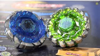 getlinkyoutube.com-Beyblade Legends BALANCE 2-PACK - Dark Wolf DF145FS & Poison Serpent SW145SD Unboxing & Review!