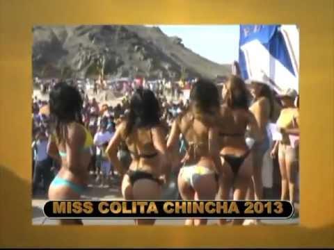 concurso miss colita playa chincha 2013