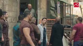 خناقة رفاعي مع عيلة النمر فى مسلسل الأسطورة للنجم محمد رمضان