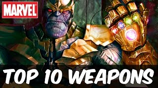 getlinkyoutube.com-Top 10 Most Powerful Marvel Universe Weapons