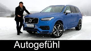 getlinkyoutube.com-All-new Volvo XC90 T8 AWD R-Design FULL REVIEW test driven - the dream Volvo 2016/2017 neuer