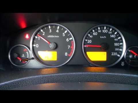 Холодный пуск двигателя Nissan Pathfinder при -21 и -25