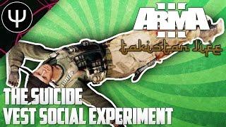 ARMA 3: Takistan Life Mod — The Suicide Vest Social Experiment!