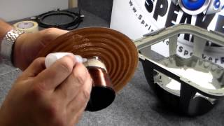 getlinkyoutube.com-How to repair a Kicker L7 subwooofer - Recoil, Recone