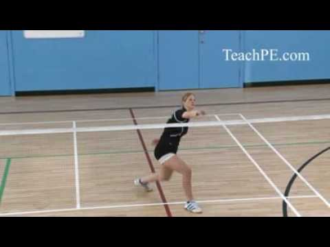 Badminton - Backhand Lob
