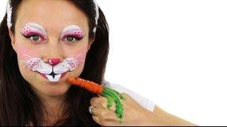 getlinkyoutube.com-Easter Bunny Face Painting Tutorial