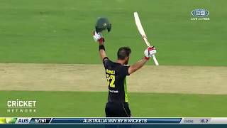 Maxwell lights up Hobart with superb century