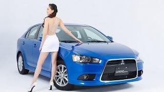 getlinkyoutube.com-2016台北新車大展:Mitsubishi model 搶鮮拍