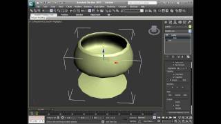 getlinkyoutube.com-3DS Max 2011 - Extend Tools - Bevel, Extrude and Lathe