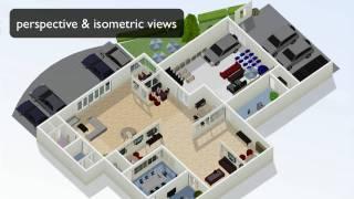 getlinkyoutube.com-How to draw floor plans online