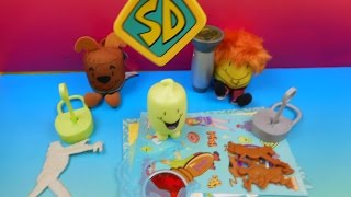 getlinkyoutube.com-2013 SONIC'S SCOOBY DOO AND THE MYSTERY OF THE GHOST TOT WACKY PACK SET OF 10 TOYS VIDEO REVIEW