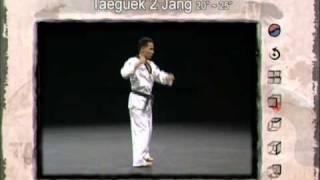 2ο Πούμσε: Τάεγκουκ Ι Τζανγκ (Poomsae Taeguek I Jang)