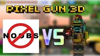 getlinkyoutube.com-Pixel Gun 3D: NOOOOBZ VS. PRO :|