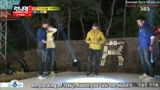getlinkyoutube.com-Running Man Ep 144 Eng Sub - Guest  Cha In-pyo, Ricky Kim and Seo Jang-hoon