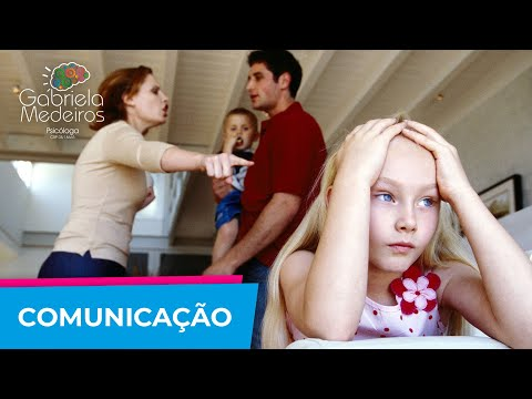 Comunicação Entre os Pais na Educação dos Filhos | Psicologa Gabriela Medeiros