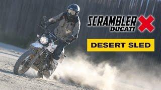 Ducati Scrambler Desert Sled 2017: Prueba a fondo [Full HD]