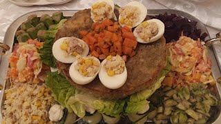 getlinkyoutube.com-Salade Composée   سلطة راقية  للمناسبات