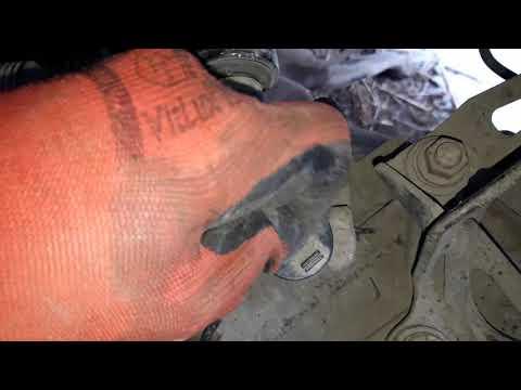 Mazda 6 (GG) снятие тросов МКПП