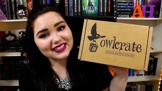 getlinkyoutube.com-October Owlcrate Unboxing 2016   AbigailHaleigh