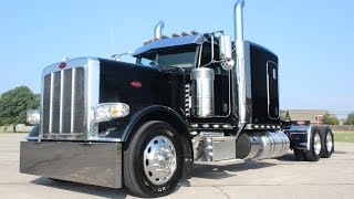 "getlinkyoutube.com-FOR SALE 300"" 2017 Peterbilt 389 Flat Top Owner Operator Hot Rod 550hp 18 speed"