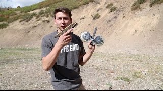 Full Auto Glock 100 Round Drum Mag // Digging Shrapnel From My Shoulder With A Pocket Knife