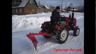 getlinkyoutube.com-Минитрактор Уралец-180 в реальных условиях
