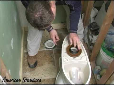 American Standard Toilet Installation