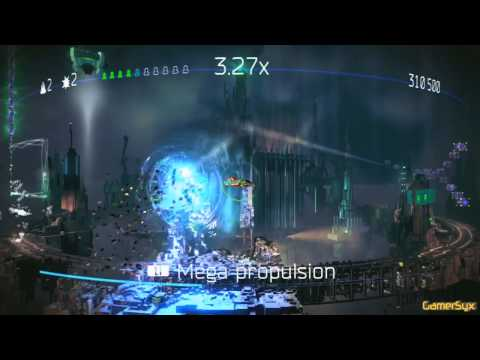 Resogun PS4 Stage 1 Gameplay