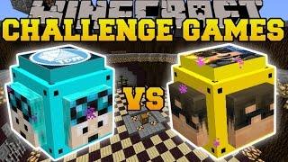 getlinkyoutube.com-Minecraft: DANTDM VS SKYDOESMINECRAFT CHALLENGE GAMES - Lucky Block Mod - Modded Mini-Game