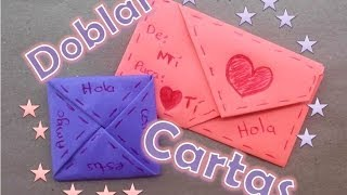 getlinkyoutube.com-Doblar Cartas de Forma Original