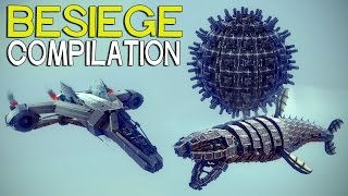 getlinkyoutube.com-►Besiege Compilation (W21) - The Most Popular Creations