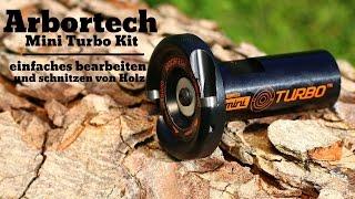 getlinkyoutube.com-Arbortech Mini Turbo Kit einfaches bearbeiten und schnitzen von Holz