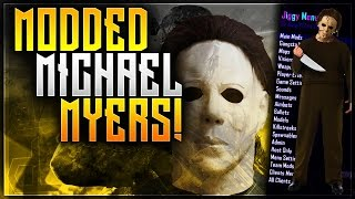 BLACK OPS 2 MODDED MICHAEL MYERS! LOW GRAVITY MOD AND MORE!
