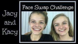 getlinkyoutube.com-Face Swap Challenge ~ Jacy and Kacy