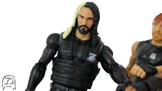 getlinkyoutube.com-Seth Rollins Fig Hack WWE The Shield January 2014 Attire Custom Elite Toy Fix Up!!