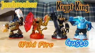 getlinkyoutube.com-Skylanders Trap Team - Package Unboxing Part 2 - Trap Masters: Gusto and More!
