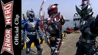 getlinkyoutube.com-Armor Heroes Fights with Monsters - Official English Clip  [HD 公式] - 59