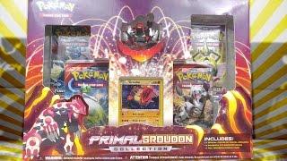 getlinkyoutube.com-Pokemon Cards - Primal Groudon Collection Box Opening Battle vs PokeClutch!