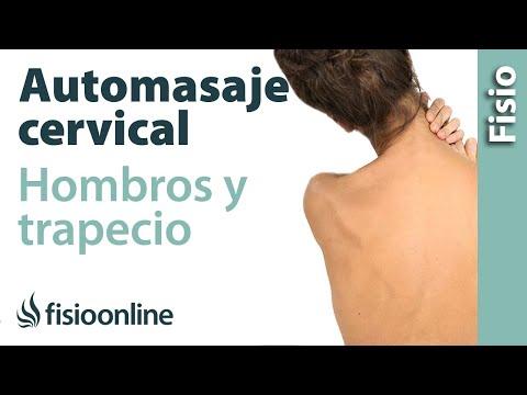 Auto-masaje cervical, de cuello, hombros y de trapecios.