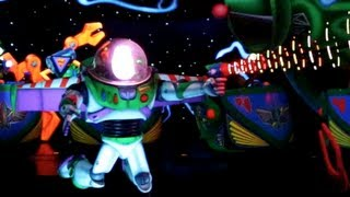 getlinkyoutube.com-Buzz Lightyear Astro Blasters (HD POV) - Disneyland Resort