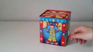 getlinkyoutube.com-Circus Clown Jack in the Box