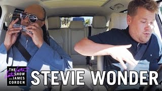 getlinkyoutube.com-Stevie Wonder Carpool Karaoke