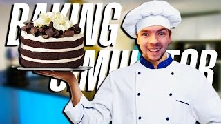 getlinkyoutube.com-MASTER OF CAKE! | Baking Simulator